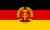 Germany Democratic Republic flag