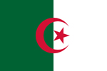 Algeria People's Democratic Republic flag