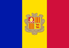 Andorra Co-Principality flag