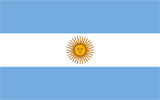 Argentina Republic flag