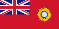 India British colony flag