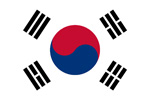 Korea Republic flag