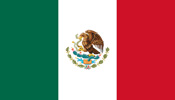 Mexico 3'rd Federal Republic flag