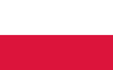 Poland People's Republic flag