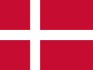 Denmark Kingdom flag