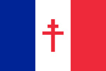 France Free France flag