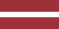 Latvia 2'nd Republic flag