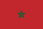 Morocco French Protectorate flag