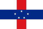 Netherlands Antilles Dutch colony flag