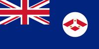 Straits Settlements British colony flag