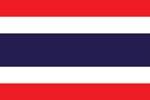 Thailand Kingdom flag