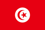 Tunisia French Protectorate flag