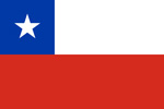 Chile Republic flag