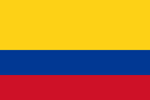 Colombia Republic flag
