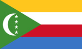 Comoro Islands Republic flag