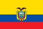 Ecuador Republic flag