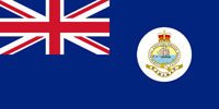 Bahamas British colony flag