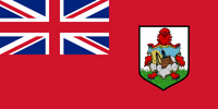 Bermuda British colony flag