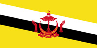 Brunei Sultanate flag