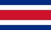 Costa Rica Republic flag