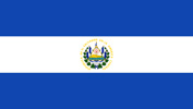 El Salvador Republic flag