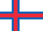 Faroe Islands Danish colony flag