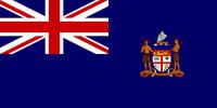 Fiji British colony flag