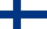 Finland Republic flag