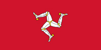 Isle of Man United Kingdom flag