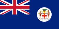 Jamaica British colony flag