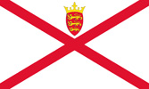 Jersey United Kingdom flag