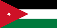 Jordan Hashemite Kingdom flag