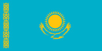 Kazakhstan Republic flag