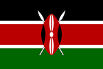 Kenya Republic flag