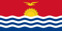 Kiribati Republic flag
