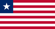 Liberia Republic flag