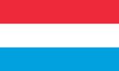 Luxembourg Grand Duchy flag