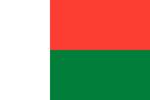Madagascar Republic flag