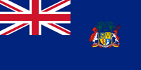 Mauritius British colony flag