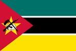 Mozambique Republic flag