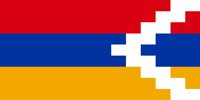 Nagorno-Karabakh Republic flag