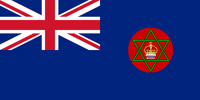 Nigeria British colony flag
